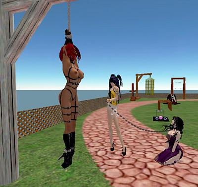 Bdsm island virtual world